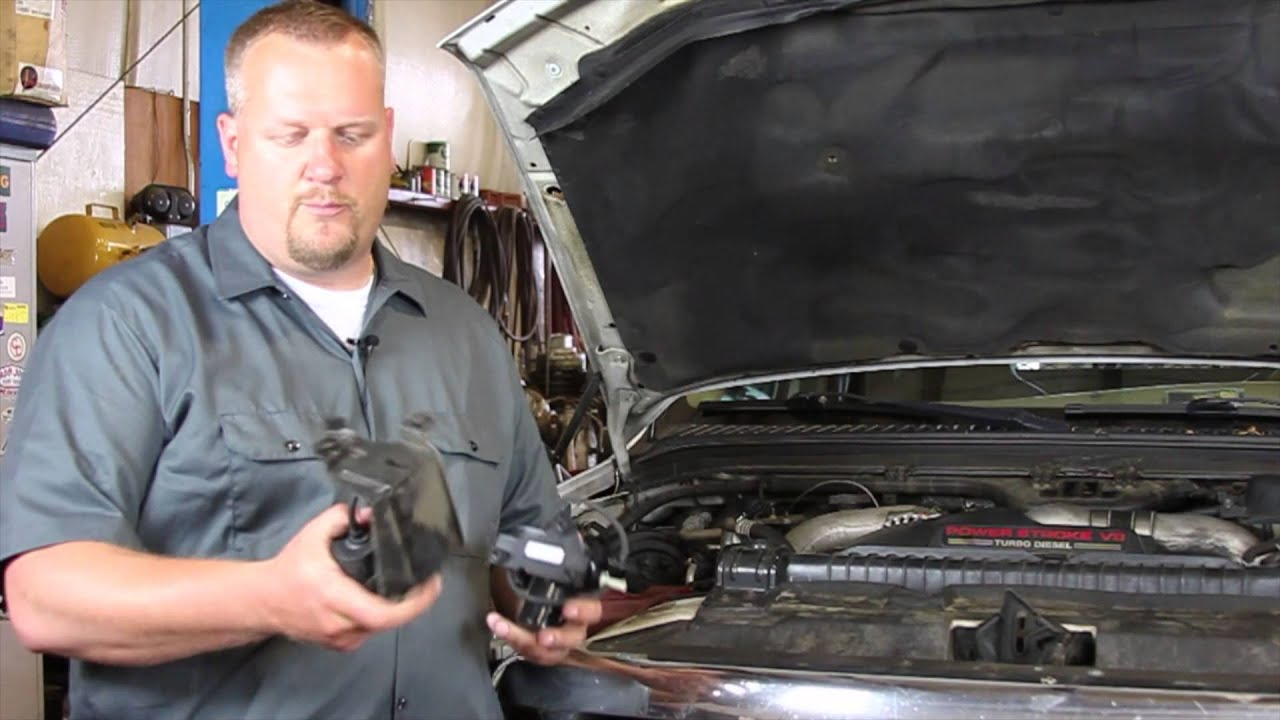 Ford Ranger Diesel >> Ford 6.0 Powerstroke Electric Vacuum Pump Replacement - YouTube