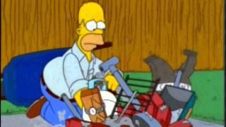 Homero construye una BARBACOA