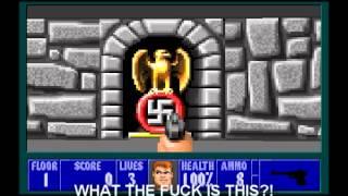 Hitler Plays: Wolfenstein 3D