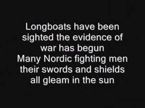 Iron Maiden - Invaders Lyrics - YouTube