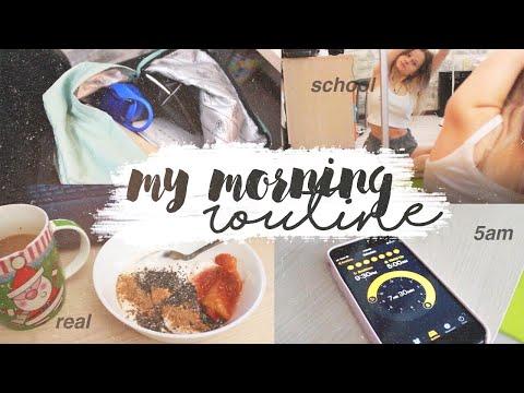 МОЕ РЕАЛЬНОЕ ШКОЛЬНОЕ УТРО 2020 ☀ // my morning routine 2020