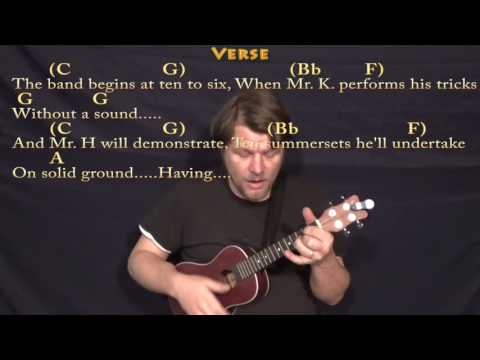 Being For the Benefit of Mr. Kite (The Beatles) Ukulele Cover Lesson with Chords/Lyrics