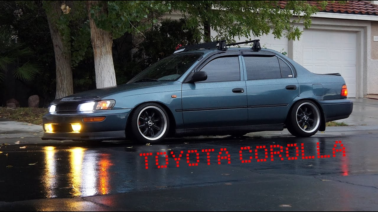 Toyota Corolla 95 7th Generation 5 Youtube