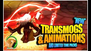 New Packs & Transmog Animations! (Summoners War)
