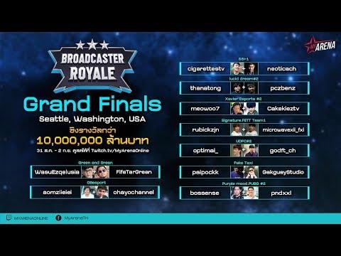 PUBG Broadcaster Royale - Live Final Day 2 Group B (พากย์ไทย) - !royale !กล้องth