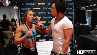 Lauren Finley, Figure Competitor, Interviewed by Sara Butler of HDPhysiques