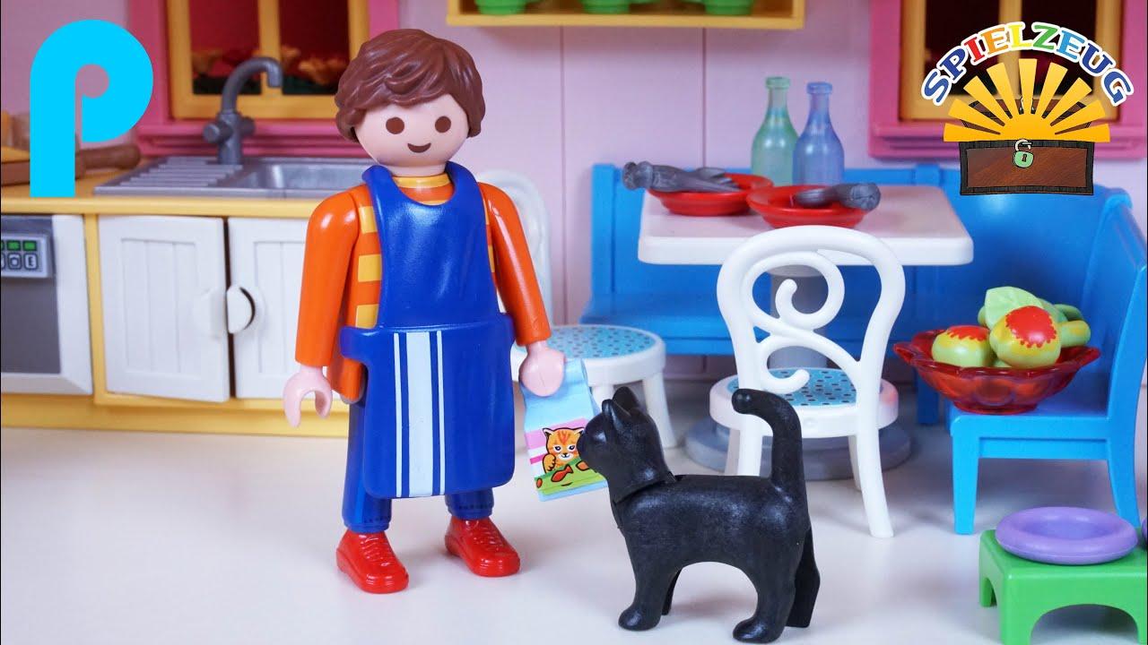 Toll Einbauküche Mit Sitzecke 5336   Playmobil Romantisches Puppenhaus  Familienhaus Haus Küche Film