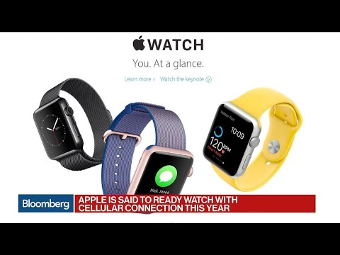 Apple Said to Ready Watch With Cellular Connection