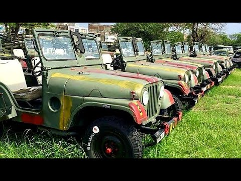 Grand Army Auction Held in Islamabad, Pakistan | Variety of Vehicles to Bid On!