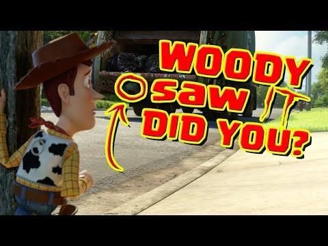 Disney Toy Story 3 Easter Eggs