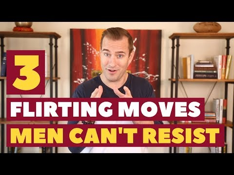How To Flirt! 3 Proven Flirting Techniques Men Can't Resist | Dating Advice For Women By Mat Boggs
