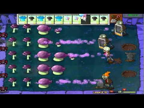 Plants vs zombies (Trồng cây bắn zombie) - Cấp độ 2-10 (Game Việt Hóa)