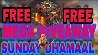 Sunday Dhamaal | Mega Giveaway | Th-10 free free free | contest link in description