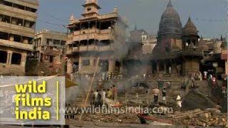 Varanasi cremation ghat