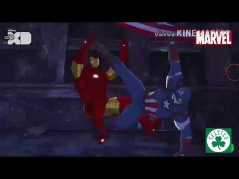 Tarzan Peter Pan Attacks Captain America Full HD
