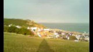 The West Hill, Hastings With Bobby The Westie Pup