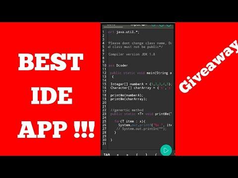 Best IDE App {For Programming}