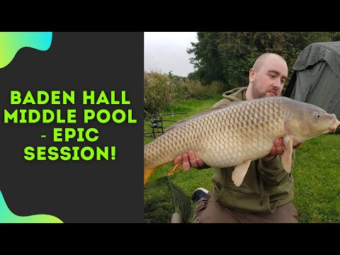 EPIC Carp Fishing Session At Baden Hall Middle Pool| Session 4| 2019
