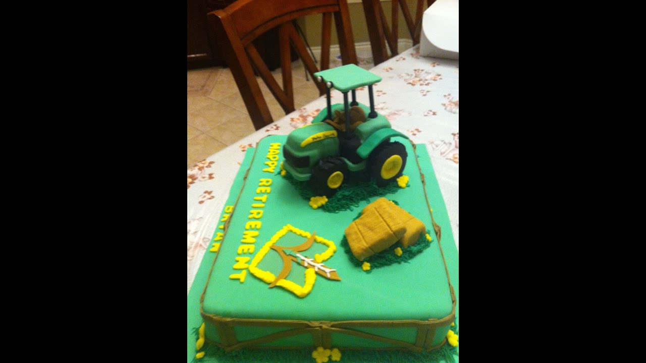John Deere Tractor Cake YouTube