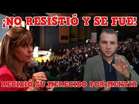 VERGONZOSO MOMENTO Sufrió Martha Lucía Ramirez -Mr. Carvajalino