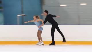 Первенство России в парном катании танц Парное катание KMC Произвольная программа 7 Ульяна ОРЛОВА