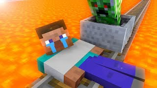 Monster School : Steve Trap - Minecraft Animation