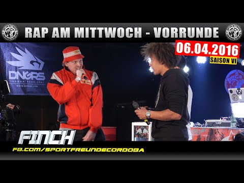 RAP AM MITTWOCH BERLIN: 06.04.16 BattleMania Vorrunde feat. FINCH, TISOS uvm. (2/4) GERMAN BATTLE