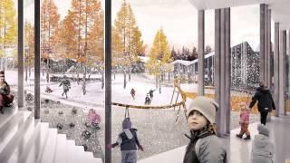 Архитектурная концепция Умной школы в Иркутске