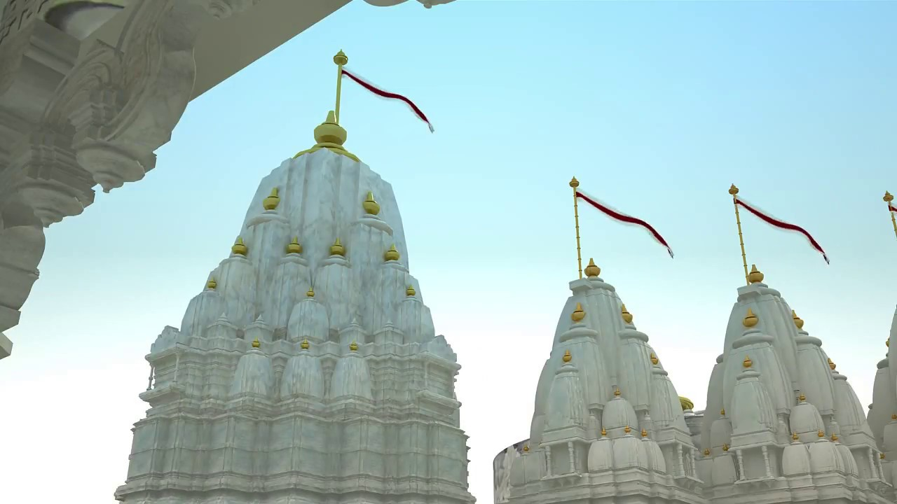 3D Animation Of Hindu Jain Temple Architecture Design_Kems Studio