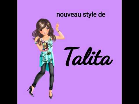 Nouveau style de personnage top model biz youtube - Photo de dessin top model ...
