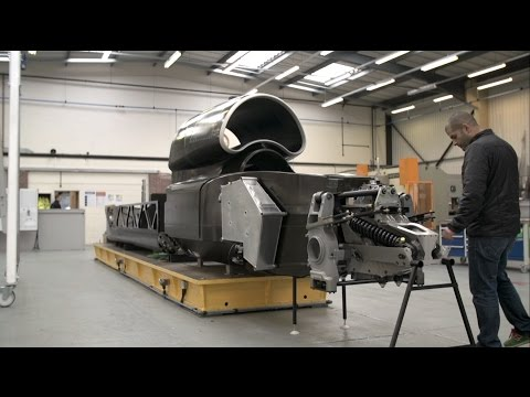 Chris Harris on Cars - 1000mph! Inside Bloodhound SSC