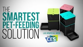 Pet Owners NEED This Automated Smart Feeder - CES 2015