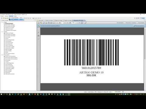 Projecto Colibri RCP 12 - Códigos de Barras