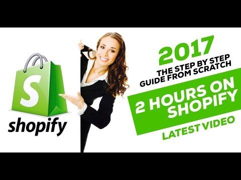 90+ Minutes of SHOPIFY HELP in 2017: How to Your Set Up Shopify Store & 1st SALE in 2 HOURS