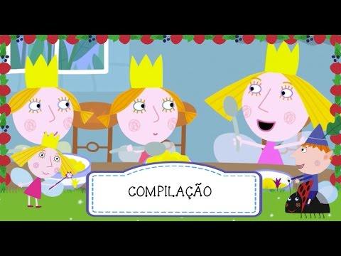 O Pequeno Reino de Ben e Holly - Compilação 1 (30 minutos) - Português BR