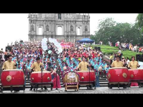 Macau International Youth Dance Festival Parade Beginning 2012
