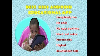 Best kids educational android apps