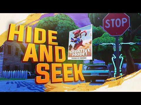 *NEW* FORTNITE CREATIVE MODE HIDE AND SEEK! FIRST LOOK thumbnail