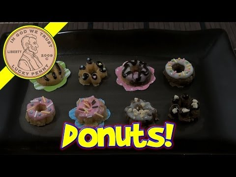 Donut Candy DIY Japanese Kit - Kracie Happy Kitchen Popin' Cookin'