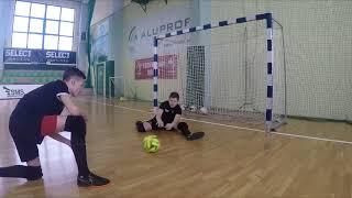 Trening Bramkarski w Futsalu dla kwartalnika MERKURY RAILWAY FUTSAL TEAM