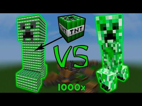 Крипер-Титан VS Гигантский Крипер Из Динамита! - У Кого Взрыв Больше? - Майнкрафт