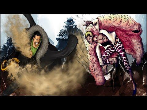 Doflamingo vs Sir Crocodile l Schicksalhafte Verbindung & Zukunft l One Piece Theorien