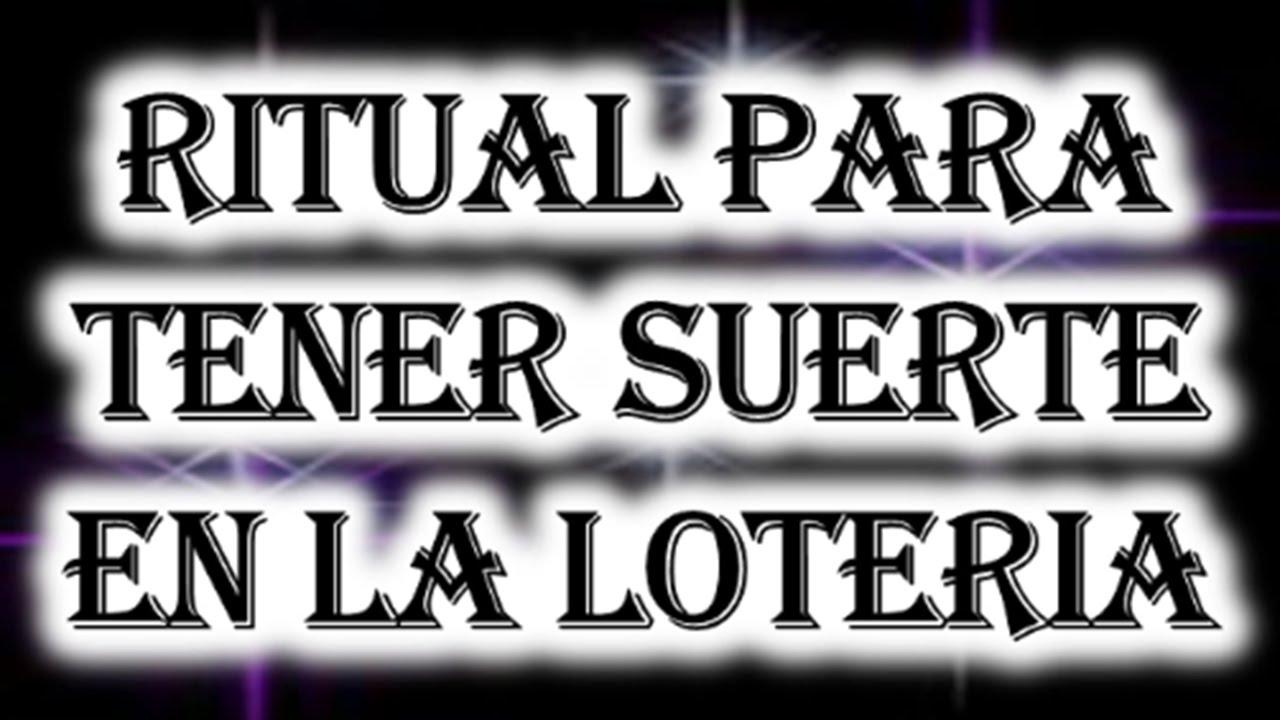 Ritual para tener suerte en la loteria youtube - Ritual para la suerte ...