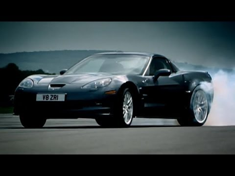 Corvette ZR1 vs Audi R8 | Top Gear | BBC