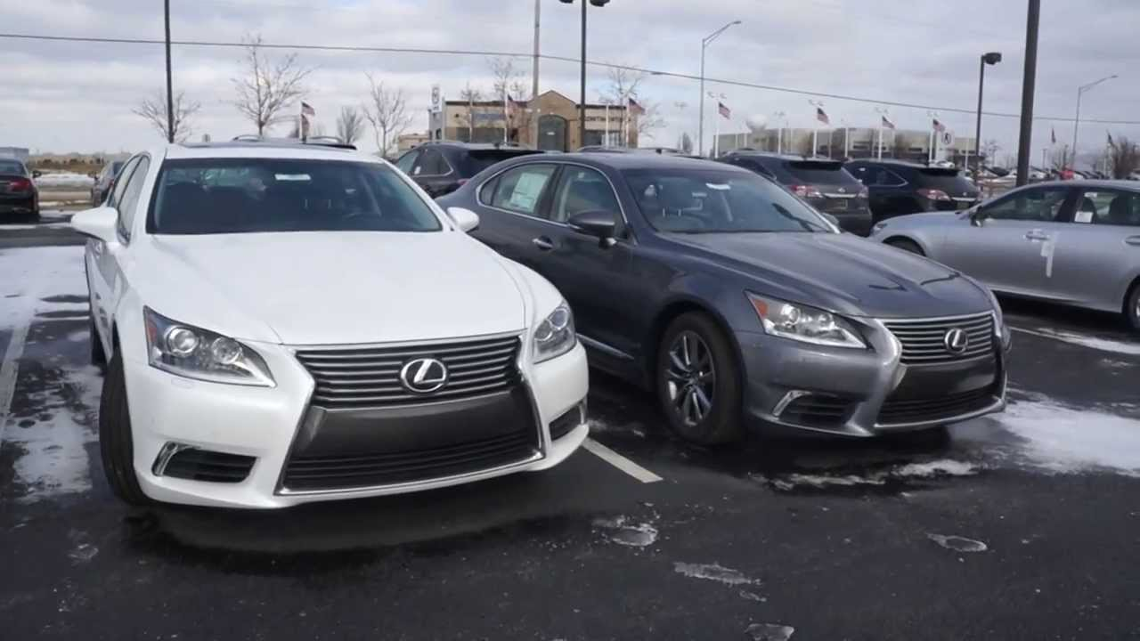 2014 lexus ls 460 differences between models ls460l and f sport see the differences youtube. Black Bedroom Furniture Sets. Home Design Ideas
