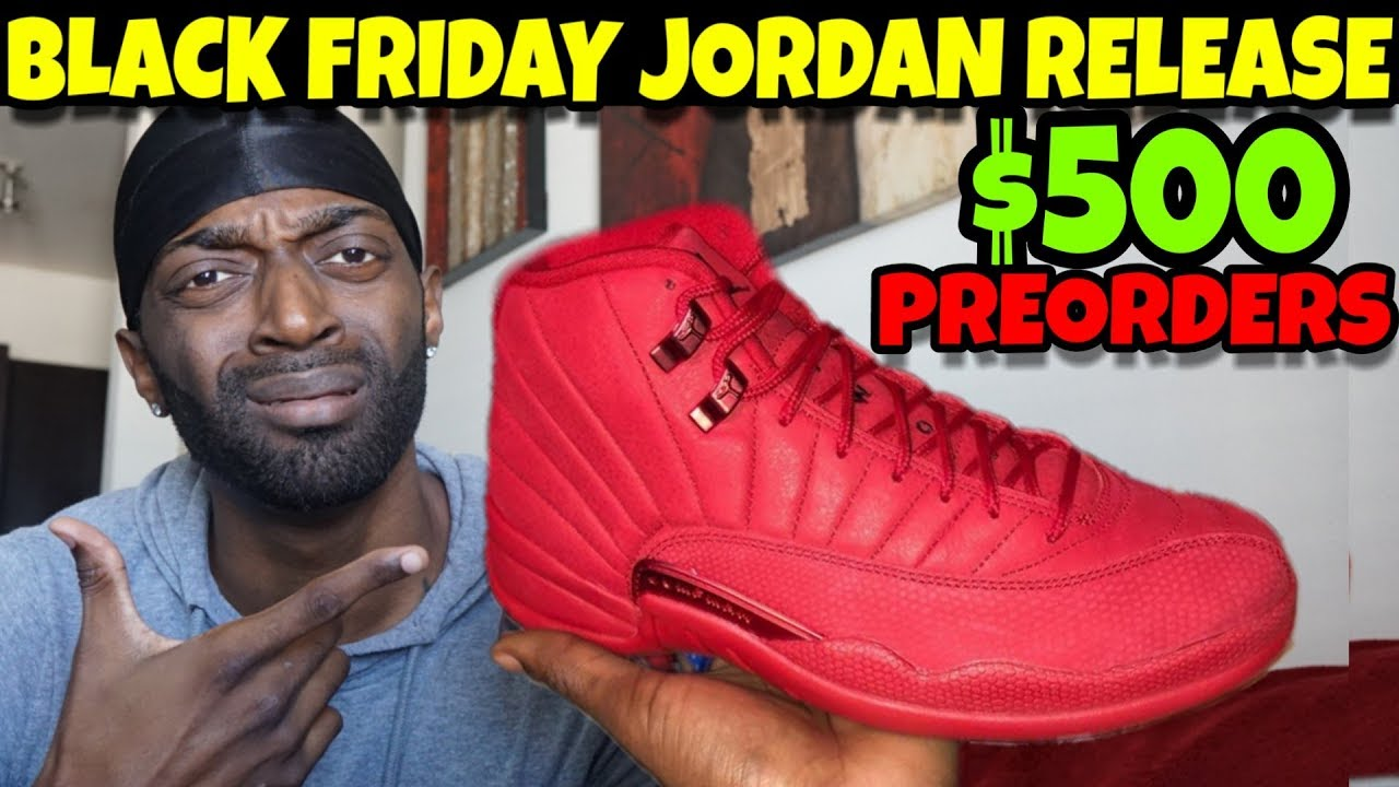 6302771cc3a510 Jordan 12 Gym Red Review 2018 Black Friday Release  500 PREORDERS!!! Worth  The Hype Or Just Hype