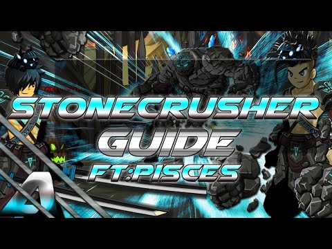 AQW: StoneCrusher Guide! (The God Class)