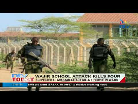 Suspected Al Shabaab attack kills 4 people in Wajir