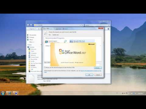 How To Open Up .wps Files Using Microsoft Office Word