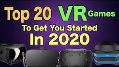 Top 20 VR Games To Get You Started in 2020